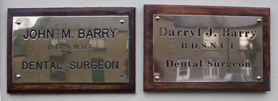 Beecher-Street-Dental-Plaques-Darryl-and-John_slide